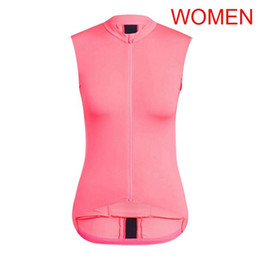 sleeveless women cycling jersey Coupons - 2019 RAPHA team Cycling Sleeveless jersey Vest Breathable Quick Dry Top outdoor sportswear summer quality cycling clothing women 0607