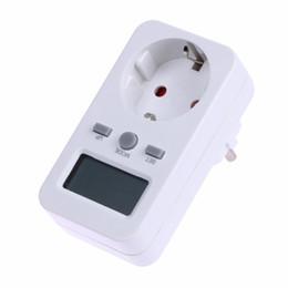 Medidor de energía digital Volt Amper Watt Meter Indicador de potencia Electrónico Estándar alemán Tipo Eu Socket de salida desde fabricantes