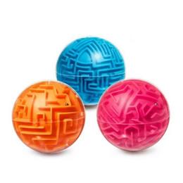 bolas de laberinto Rebajas Juguetes de inteligencia Labyrinth Ball 3D Mini Magic Magic Ball Magic / Solid Maze Niño Adulto Juguete Interacción entre padres e hijos