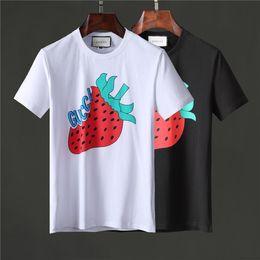 Moda di fragole online-T-shirt moda casual da uomo T-shirt marca fragola casual T-shirt fashion versatile in cotone T-shirt di alta qualità fragola fragola stampa