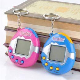 2019 batteriebetriebene dinosaurierspielzeug Neue Cyber-Spielzeug Tamagotchi Digital-Pet für Kind elektronischen Haustier spielt Retro-Spiel spielen Haustiere Lustige Spielzeug Vintage-Virtual Pet Kids Game