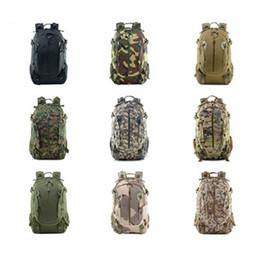 Reiten Camouflage Rucksäcke Multifunktionale Rucksäcke Casual Gepäcktasche Oxford Stoff Outdoor Camping Wandern Tasche 9 Farben ZZA1065 von Fabrikanten