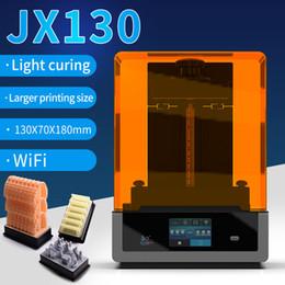 HiTry 2K lcd 3D printer wifi version wax Casting UV Resin 6 inch LCD lamp  curing SLA DLP 3printer