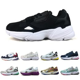 low priced fa78e bf7fe 2019 Falcon W Running Shoes For Women Men High Quality Luxury Designer  Sports Sneakers Originals Jogging Outdoors 36-45 discount tigers shoes