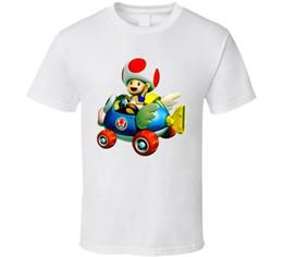 Canada Mario Kart Toad T-shirt de jeu vidéo Funny expédition gratuite Unisexe Tshirt top cheap mario games videos Offre