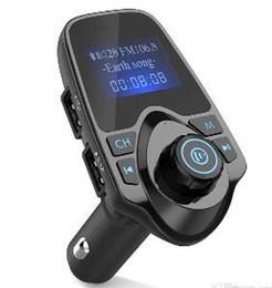 2019 usb-flash-laufwerk lautsprecher-player Bester verkaufender Bluetooth drahtloser Auto-MP3-Player-Freisprecheinrichtung FM-Transmitter A2DP 5V 2.1A USB-Ladegerät LCD-Monitorauto FM-Modulator