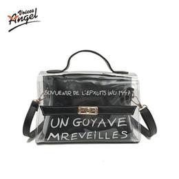 5d48ddae737a женская сумочка прозрачная желейная сумка bolsa feminina messenger borsa  донна мода малас де сенхора сумки на плечо теребка