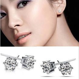 T/&T Stainless Steel Round YING/&YANG Stud Earrings EC61