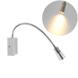 Leitos de leitura flexíveis on-line-A luz conduzida flexível da cama da leitura do diodo emissor de luz com interruptor conduziu a luz da parede A lâmpada conduziu a parede do livro de iluminação conduzida do alumínio para lampara libra