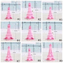 miniature per artigianato Sconti Torre Eiffel Resina Artigianale In Miniatura Fata Giardino Decorazione Camera Da Tavolo Micro Paesaggio Accessorio Cactus Fioriera Regalo Novità Articoli GGA2013