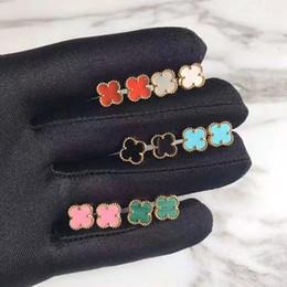 Diseñador de moda Pendiente de la Flor de Las Mujeres de Lujo de la Marca Stud Pendientes Señoras de Oro Rosa Pendientes de Plata de Alta Calidad de La Joyería Fina Regalos del Amante desde fabricantes