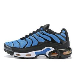 Canada Nouveau Hommes Designer Plus TN SE Chaussures De Sport De Mode Bleu Tn Sneaker Noir Oreo Jaune Camping Randonnée Chaussures De Course 40-46 Offre