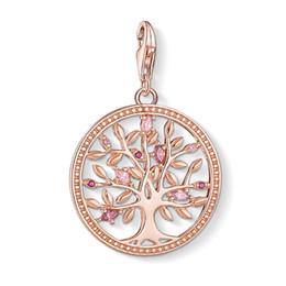 Chance d'arbre en Ligne-Rose Gold Tree of Love Charms pour Bracelet Femmes Rose CZ Thomas Style Argent Mode Bonne Chance Bijoux DIY Accessoires 2019 Nouveau