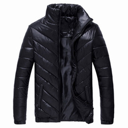 772cc22192b0f Puimentiua 2018 Brand Winter Jacket Mens Parkas Warm Jacket Solid Casual  Coats Cotton Padded Male Clothes Plus Size 5XL