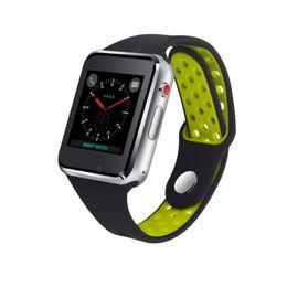 Емкостные часы онлайн-M3 смарт-наручные часы с 1,54-дюймовым ЖК-дисплеем OGS емкостный сенсорный экран Smartwatch SIM-карты слот камеры Android телефон часы оптом