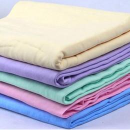 synthetisches waschleder Rabatt Neues synthetisches Mehrzweckauto-synthetisches Chamois-Leder-sauberes trockenes Waschwischtuch-Tuch-Tuch 2019