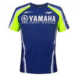 Moto ropa hombres online-Moto Racing M1 Motocross Moto GP Casual Riding hombres manga corta Ropa Conducción Transpirable Yamaha camiseta