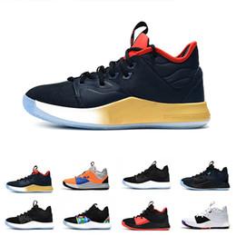 794aa58426ef Scarpe di qualità superiore PG 3 della NASA per le vendite spedizione  gratuita 2019 Paul George Negozio di scarpe da basket con scatola TAGLIA  US7-US12