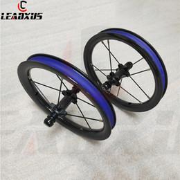 2019 ffwd f4r kohlenstoffräder LEADXUS Sliding Bike Carbon Laufradsatz 12 Zoll Straight-Pull Lager BMX Kinder Kinder Balance Fahrrad Carbon Laufräder 85mm 95mm BMX