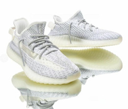350 V2 Correr 2019 Zapatos Hombres Mujeres Zebra Cream White Sesame West Sport Sneakers Con Caja 36-45 desde fabricantes