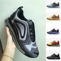 c2f4ca8d5cc coussins gris bon marché Promotion Chaussure Pas Cher 720 Chaussures Complet  Coussiné Hommes Femmes Neon Triple