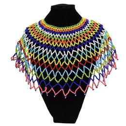 f60bb7266962 Resina Africana Con Cuentas Chunky Cadena Bib Gargantilla Collar Egipto Declaración  Collar Boho Étnico Maxi Collares Para Las Mujeres Joyería Kolye ...