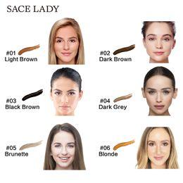 Maquillage de cire en Ligne-Usine Teinture À Sourcils 6M Gel Renforceur Cire De longue durée Imperméable À L'eau Henné Teinture Des sourcils Teinte Maquillage Noir Brown Eye Sourcils Enhancer Maquillage Cosmétique