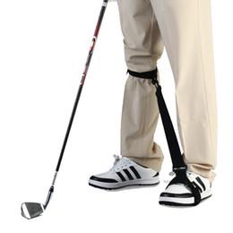 Correzione gamba online-Cintura per la correzione della postura da golf Leg Corrector Attrezzi da allenamento Ausilio per la formazione Corpo principiante Resistente all'abrasione Universal 28rs f1