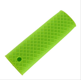 2019 gummi-topfhalter Silikon Hot Handle Holder Topflappen Sleeve Grip - Gummi Topf Griff Hülse hitzebeständig für Gusseisen Pfannen Pfannen Griddles günstig gummi-topfhalter