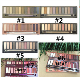 2019 pro 12 цветов палитры теней для век Бесплатная доставка ePacket Новый макияж Eyes Hot Brand Nude NO: 1/2/3/4/5 / вишня / палитра 12 цветов теней для век!