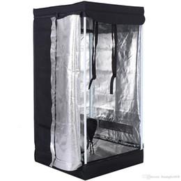Tentes de chambre en Ligne-Tente de culture intérieure pour tente de croissance 24 x 24 x 48 po, cabanon non toxique hydroponique en Mylar Nouveau