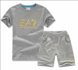 Canada 2018 VENTE CHAUDE Nouveau Style Vêtements Pour Enfants Pour COCO Garçons Et Filles Sport Suit Bébé Infant À Manches Courtes Vêtements Enfants Set 2-7 T Offre