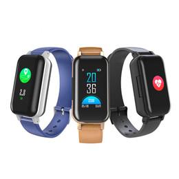 iphone tracking gps Rabatt TWS Earbuds Smart Armband Bluetooth 5.0 Smart Armband T89 Fitness Tracker Pulsuhren für iOS Android Smartphones mit Retail Box