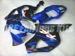 ninja 636 de oro negro Rebajas 3 regalos gratis Nueva ABS motocicleta Kits de carenados de motocicletas aptos para HONDA CBR900RR 954 02 03 CBR954RR 2002 2003 conjunto de carrocería personalizado Carenado conjunto azul