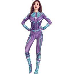 Um pedaço halloween trajes mulheres on-line-Luxo Halloween Costume Womens Cosplay Uniform Designer Vestidos de Halloween Mulheres Uma peça de vestuário 2 cores opcionais