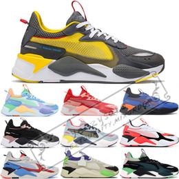 Sport-spielzeug für jungen online-Neue Luxus Designer RS-X Spielzeug Release Herren Laufschuhe für Männer Turnschuhe Männlichen Sneaker Frauen Jogging Jungen Sport Weibliche Trainer 36-45
