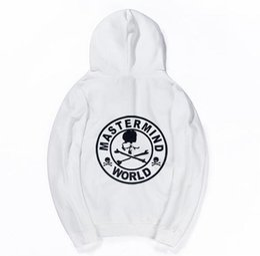 Sweat à capuche tête de mort hip hop en Ligne-Mastermind World Skull Imprimé Designer Hip Hop Hoodies Casual Sweats À Capuche Mâle Imprimé High Street Pull