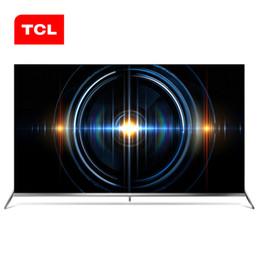 2019 blu ray original Original TCL 65-inch 65C66 cena completa AI TV 4k uhd full ecológico HDR Anti-shake e Blu-ray TV de tela plana FedEx Frete Grátis blu ray original barato
