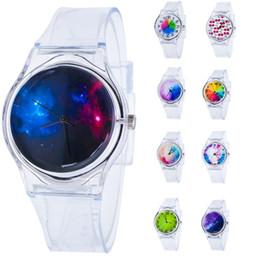 Женские круглые часы онлайн-JINEN Fashion Watch Leather Strap Women Watches Casual  Simple Round Shape Analog Business Quartz Wristwatch for ladies