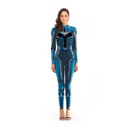 2019 livro de trajes Marvel heroes 4 capitão cosplay marvel jumpsuit cosplay collants traje do livro de quadrinhos livro de trajes barato