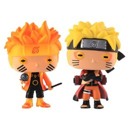 Animazione delle figure di azione online-Adorable Funko Pop Animation: Naruto - Naruto Six Path / Sage Mode Action figure in vinile con scatola # 185 / # 186 Regalo bambola giocattolo 1 pz