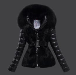 meilleurs manteaux d'hiver pour femmes Promotion Top qualité Femmes Hiver Veste Dames Réel Col De Fourrure De Renard 90% Duck Down Inside Warm Coat Femme Avec La Meilleure Qualité