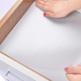 бумажные коврики Скидка Ящик Pad бумага 45 * 120 см утолщаются прозрачный кухня изоляция водонепроницаемый масло доказательство стол коврик влагостойкий домашний шкаф коврик DH0555