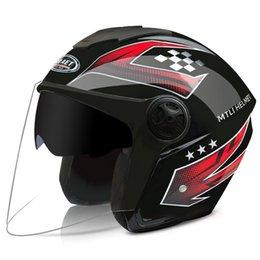 2019 cascos ls2 rojos 2020 Nueva Arai Nuevo casco de la motocicleta que compite con cascos de Cross Country La mitad de los hombres y las mujeres protección solar Cascos Negro