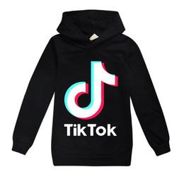 roupas para meninas adolescentes Desconto TikTok Crianças manga comprida Hoodies Boy / Girl Tops adolescente Jacket camisola dos miúdos casaco com capuz Algodão