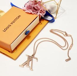 collana di fronte del leone dell'oro Sconti Designer nuovo choker collane gioielli in acciaio inossidabile 316l titanio placcato oro rosa 18k collana pendente in argento per le donne regalo di grandi dimensioni