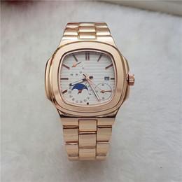 Aço fabricado on-line-Venda quente Marca Black Dial Homens E Mulheres Modernos Relógios Habilidosos Fabricação de Ouro Strap Diaria Relógios À Prova D 'Água Relógios de Quartzo