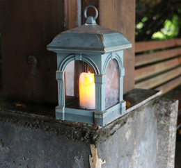 iluminação de jardim europeia Desconto Luz Solar Candle Light Garden Pendurado Luz Decoração Ao Ar Livre À Prova D 'Água Guarda-chuva Paisagem Europeia Luz Adequado para o Pátio