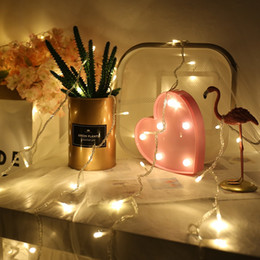 2019 proyecto de boda Star Light String Led Starry Decoration Lights Festival Party Room Decoration Christmas Wedding Lighting Project Waterfall Light Outdoor proyecto de boda baratos