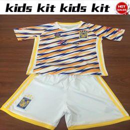 a56c461aa 2019 Kids soccer Jersey Tigers UANL Third kit 19 20 Child Mexico Club  Football Shirts home Boy soccer Kit 2019 shirt+pants discount mexico jersey  kits